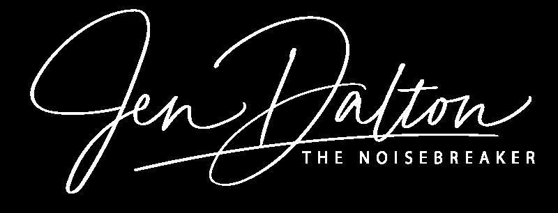 Jen Dalton White Logo