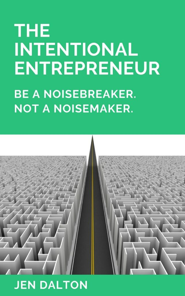 Intentional Entrepreneur Cover