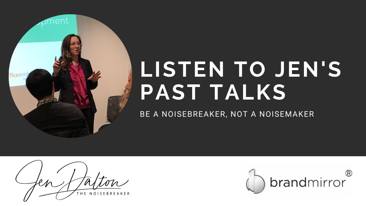 Jen's Past Talks Thumbnail